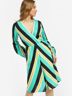 Miaminx Multi Stripe Shift Dress