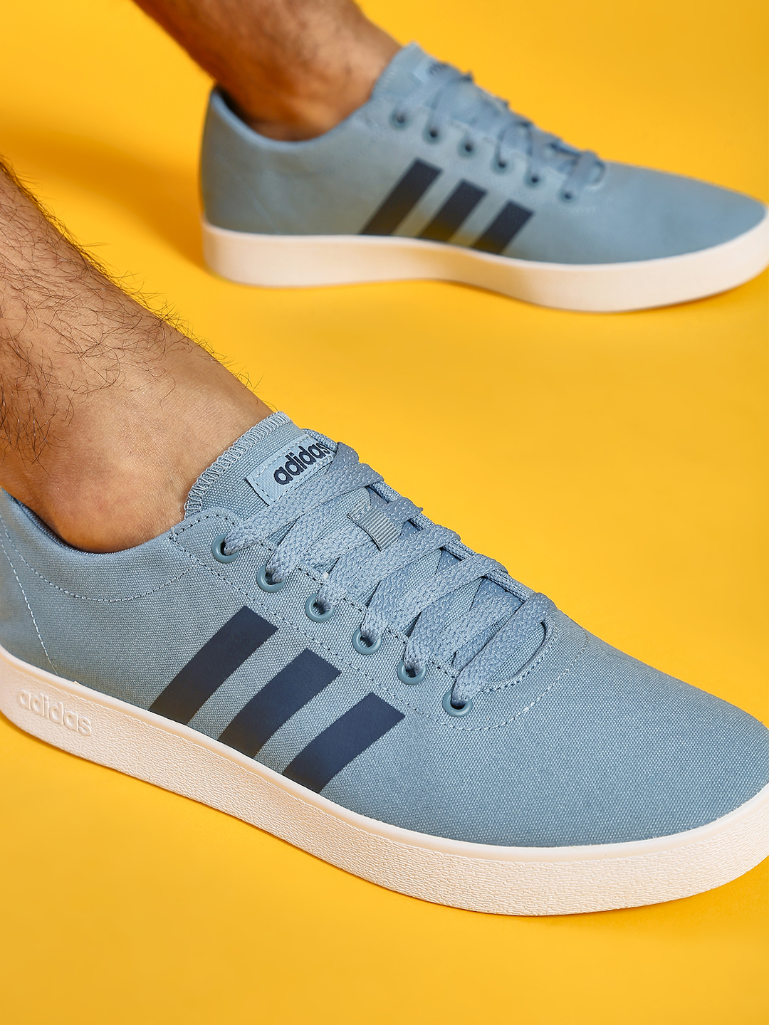 Adidas Grey Easy Vulc 2.0 Shoes 1