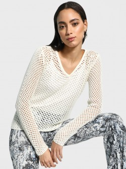 Akiva All Over Mesh Pullover