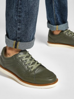 Kindred Panelled Gum Sole Sneakers