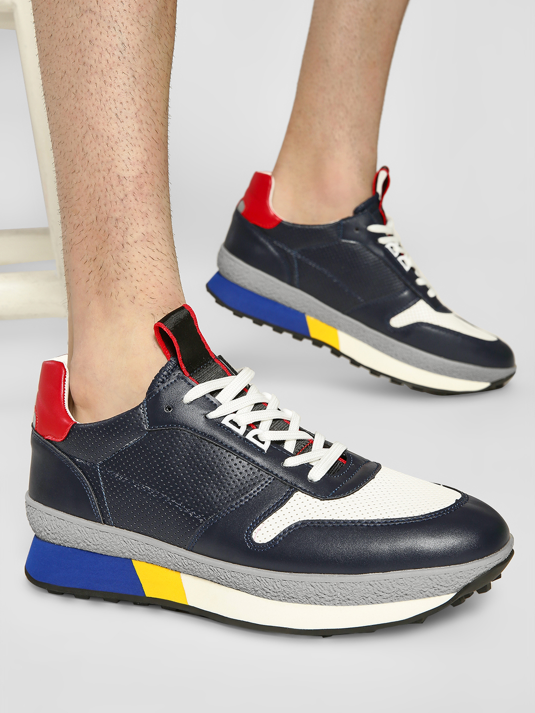 Kindred Multi Colour Block Panelled Sneakers 1