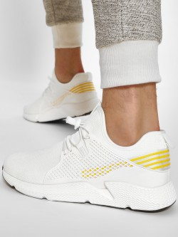 Kindred Contrast Stripe Knitted Sneakers