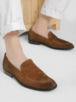 Griffin Suede Formal Loafers