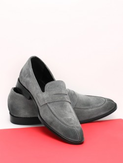 Griffin Suede Penny Loafers