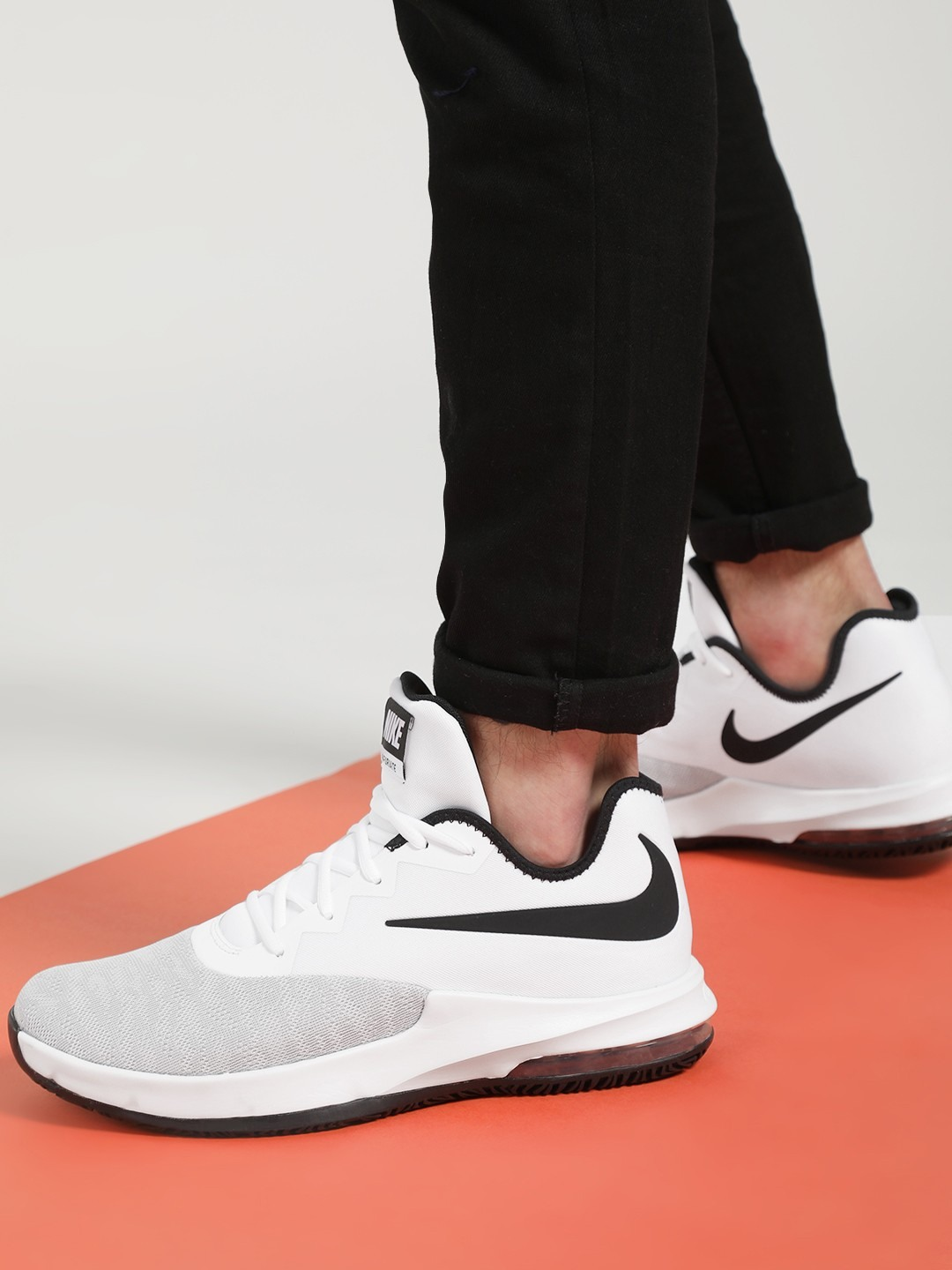 Nike White Air Max Infuriate 3 Low Shoes 1