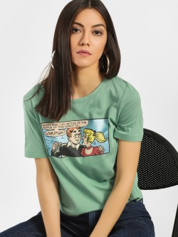 Only Archie Graphic Placement Print T-Shirt