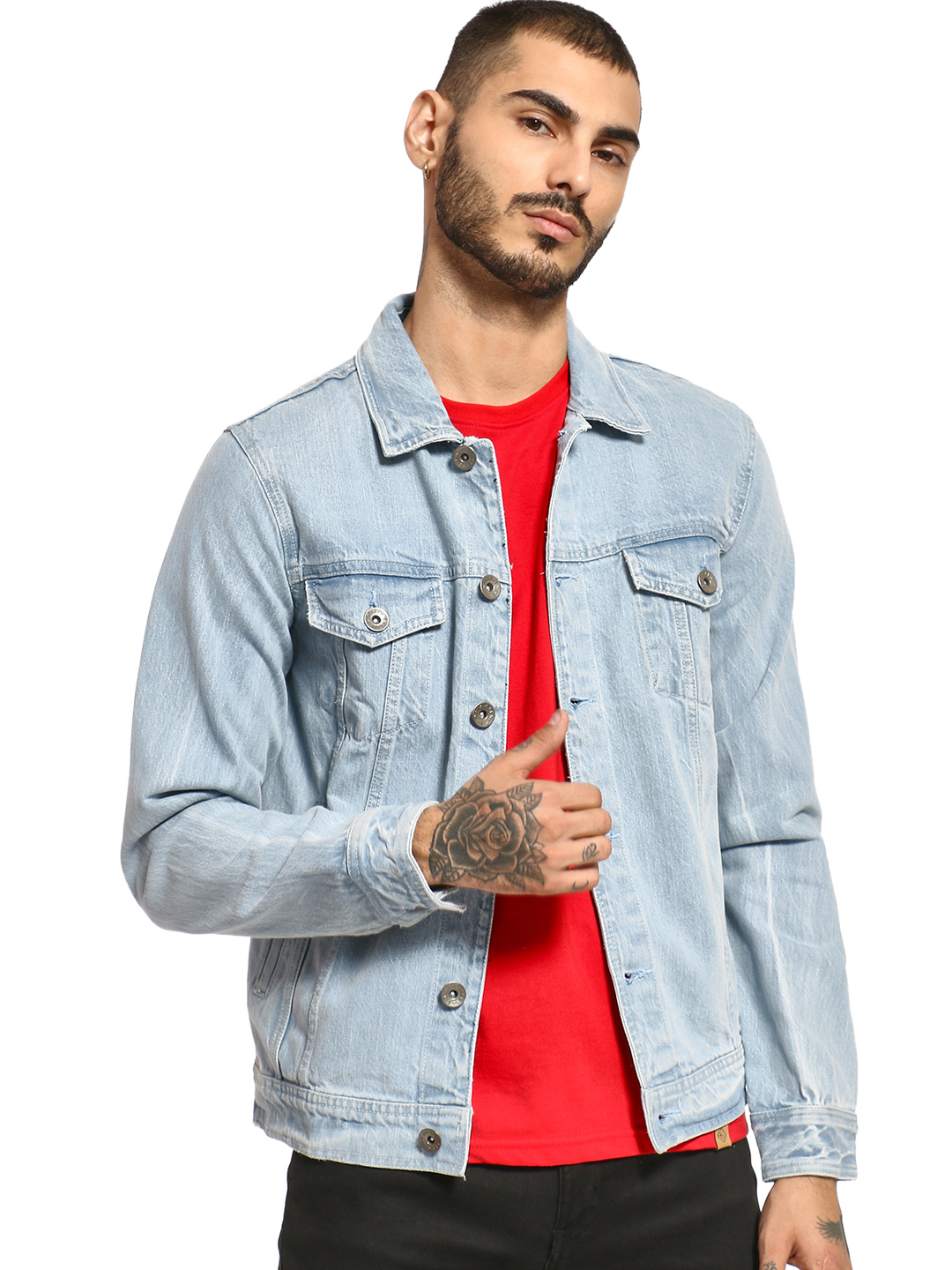K Denim KOOVS Overdyed Trucker...