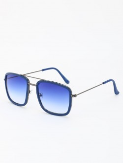 KOOVS Coloured Lens Double Rim Sunglasses