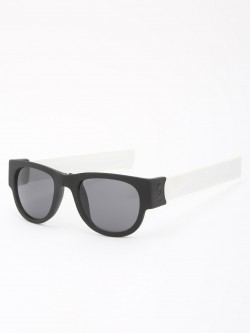 KOOVS Foldable Arms Matt Retro Sunglasses