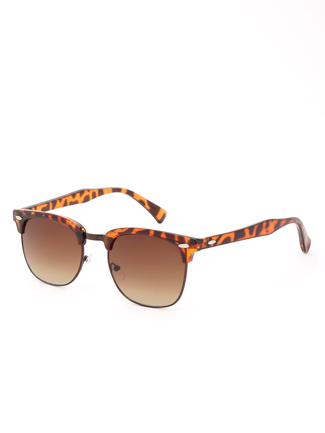 KOOVS Brown Tortoise Shell Classic Sunglasses 1