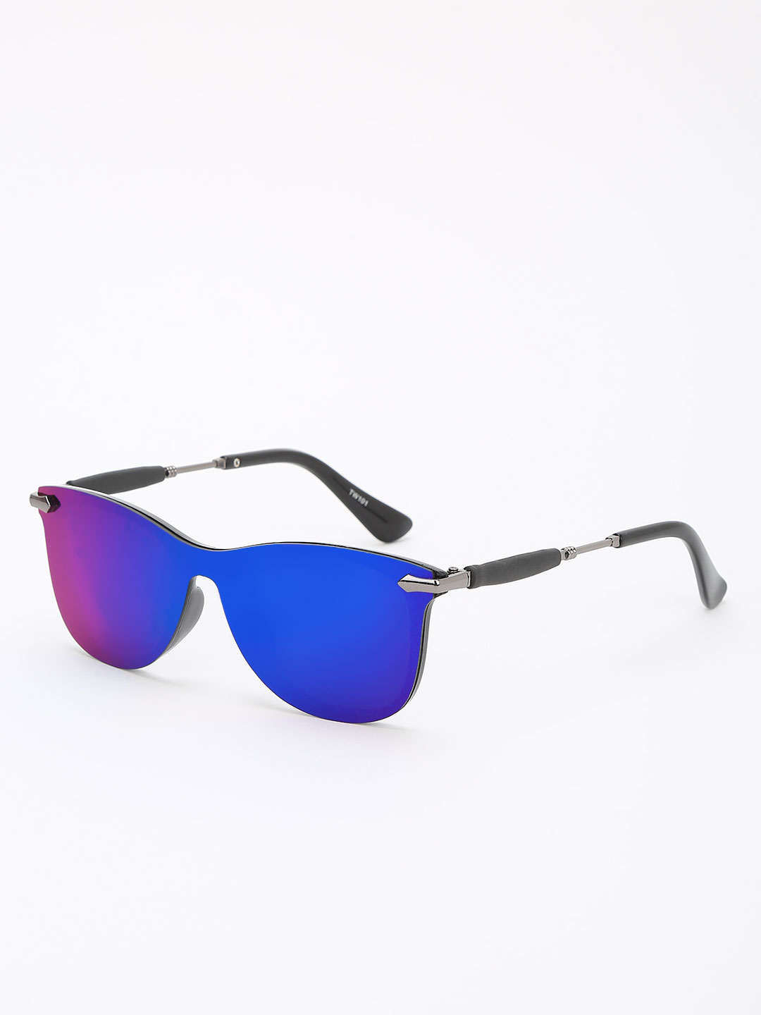 KOOVS Green Holographic Lens Reflective Sunglasses 1