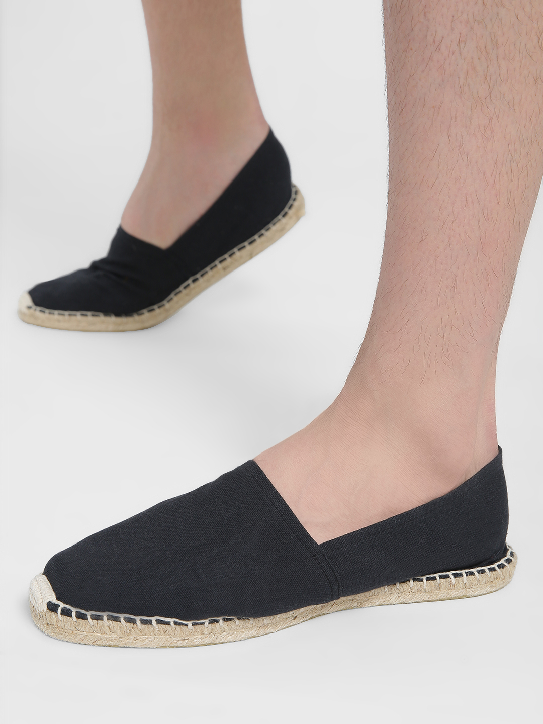 Alcott Black Canvas Espadrilles 1