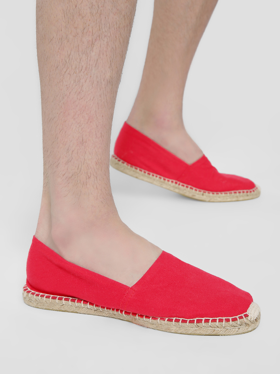 Alcott Red Canvas Espadrilles 1