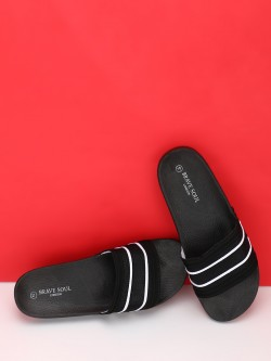 Brave Soul Knitted Broad Strap Slides