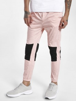 KOOVS Color Block Panel Joggers
