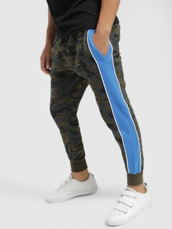 Brave Soul Camouflage Side Tape Joggers