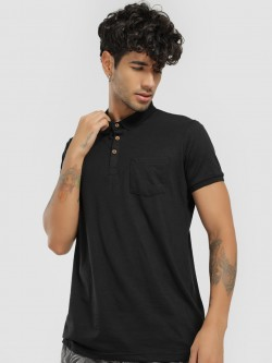 Brave Soul Basic Polo Shirt