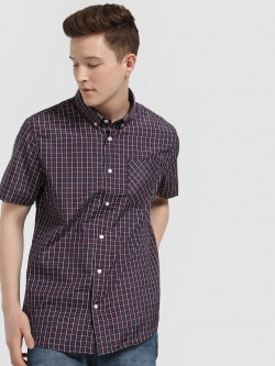 Brave Soul Short Sleeve Checked Shirt