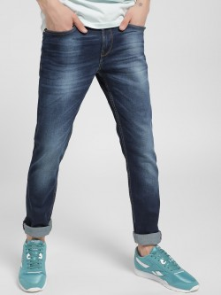 Being Human Light Wash Slim Jeans