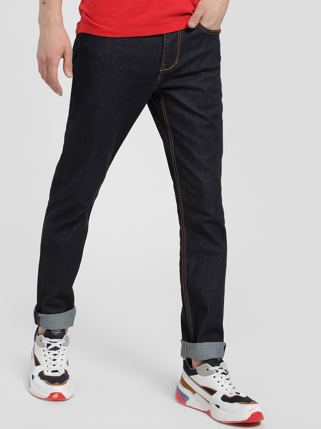 Being Human Blue Basic Skinny Jeans 1