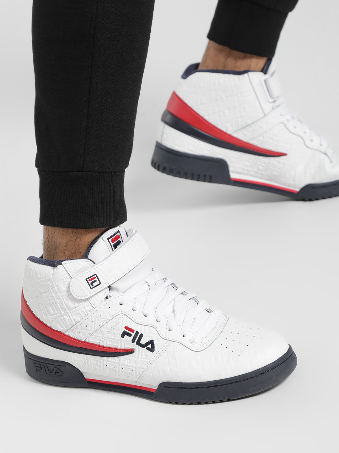 FILA HERITAGE White F-13 Small Logos Shoes 1