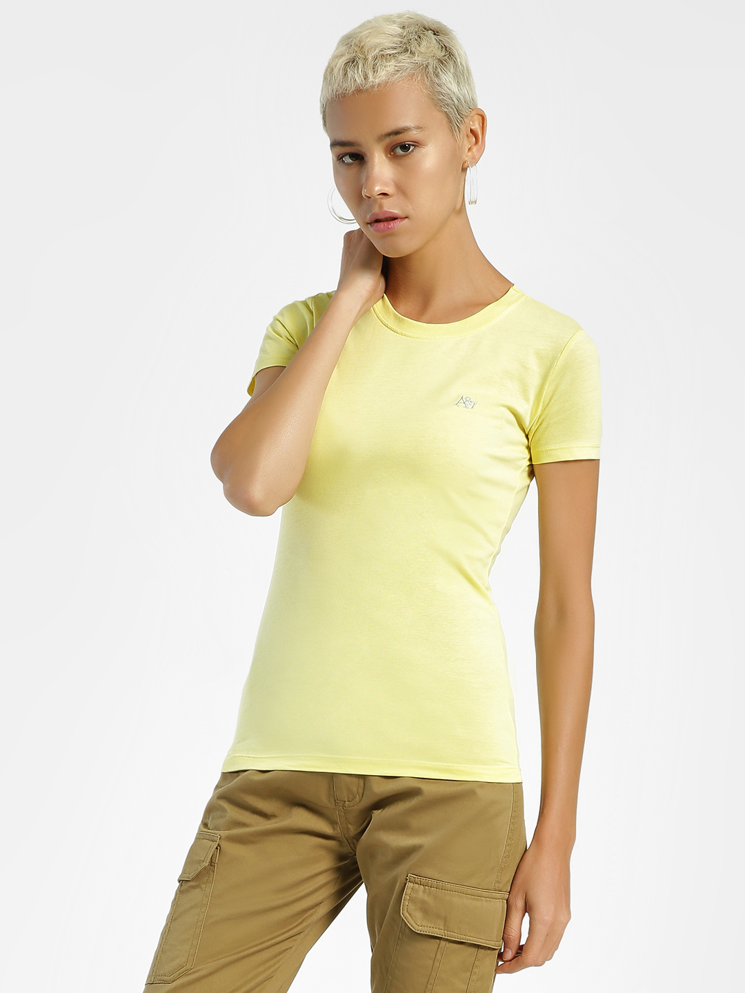 Aeropostale Green Basic Slim T-Shirt 1