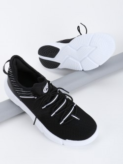 361 Degree Knitted Tape Detail Trainers