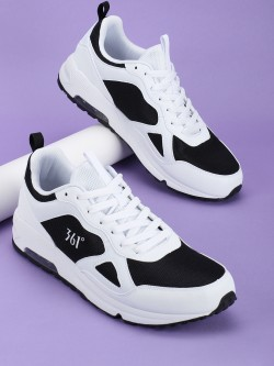 361 Degree Classic Culture Mesh Panel Trainers