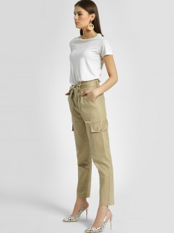 KOOVS Utility Pocket Cargo Trousers