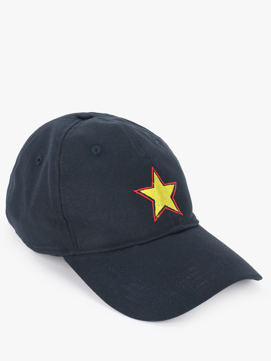 Lazy Panda Blue Star Embroidered Cap 1