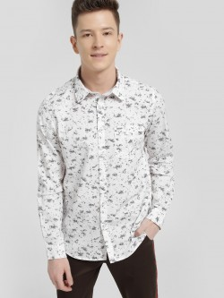 Lee Cooper Floral Print Casual Shirt