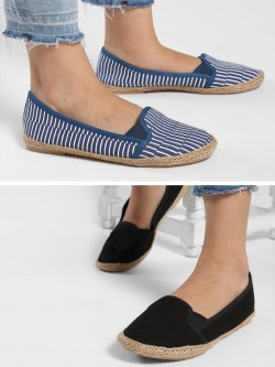 KOOVS Basic Espadrilles (Pack Of 2)
