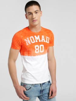 Flying Machine Nomad Tie & Dye Print T-Shirt