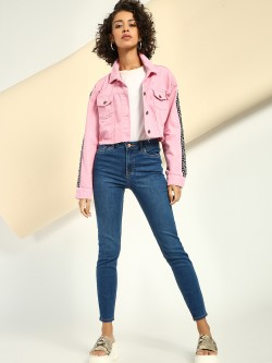 New Look High Waist Cropped Skinny Jeans