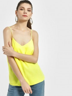 New Look Back Cross Strap Sleeveless Top