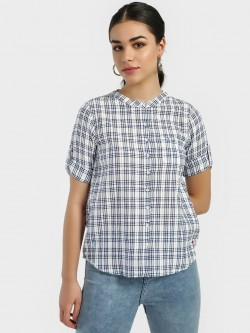 Lee Cooper Woven Check Shirt