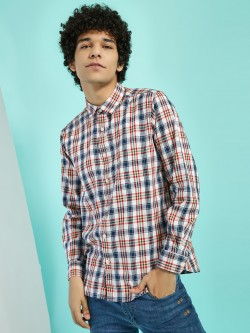 Buffalo Multi-Check Patch Pocket Shirt
