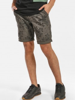 Buffalo Floral Print Knee-Length Shorts