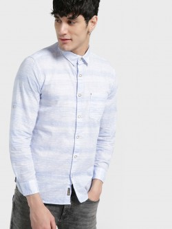 Buffalo Dobby Multi Stripe Casual Shirt