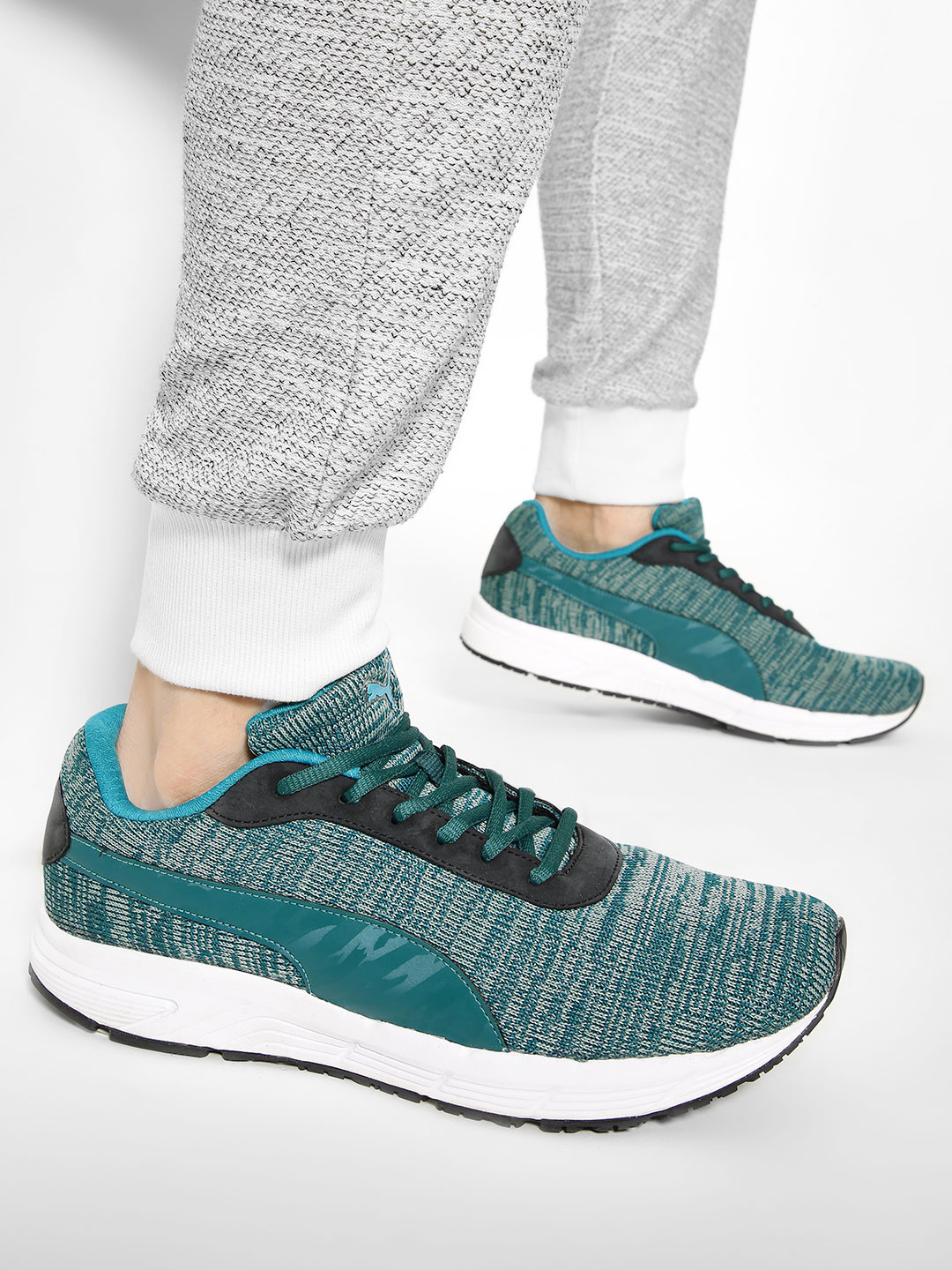 Puma Blue Valor Knit IDP Trainers 1