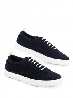 KOOVS Basic Corduroy Lace-Up Sneakers
