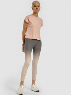 K ACTIVE KOOVS Ombre Detail Cropped Leggings