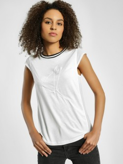 United Colors of Benetton Bird Embossed Ringer T-Shirt