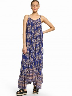 Kisscoast Floral Print Maxi Dress
