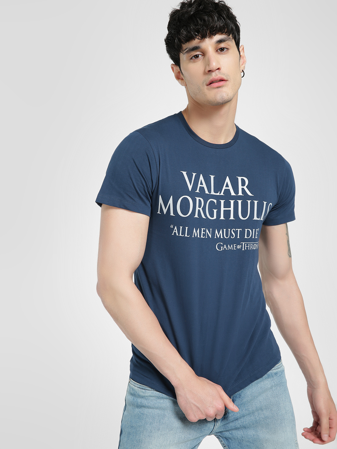 Free Authority Blue Game Of Thrones T-Shirt 1