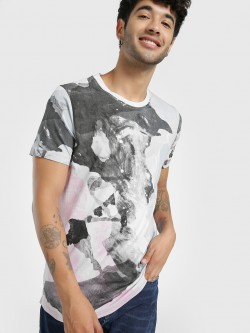 Kultprit All Over Digital Print T-Shirt