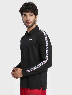 Fila Logo Tape Polo Shirt