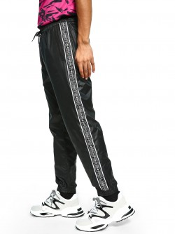 K ACTIVE KOOVS Text Side Tape Joggers