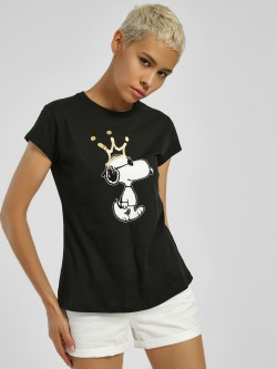 Free Authority Snoopy Foil Print T-Shirt
