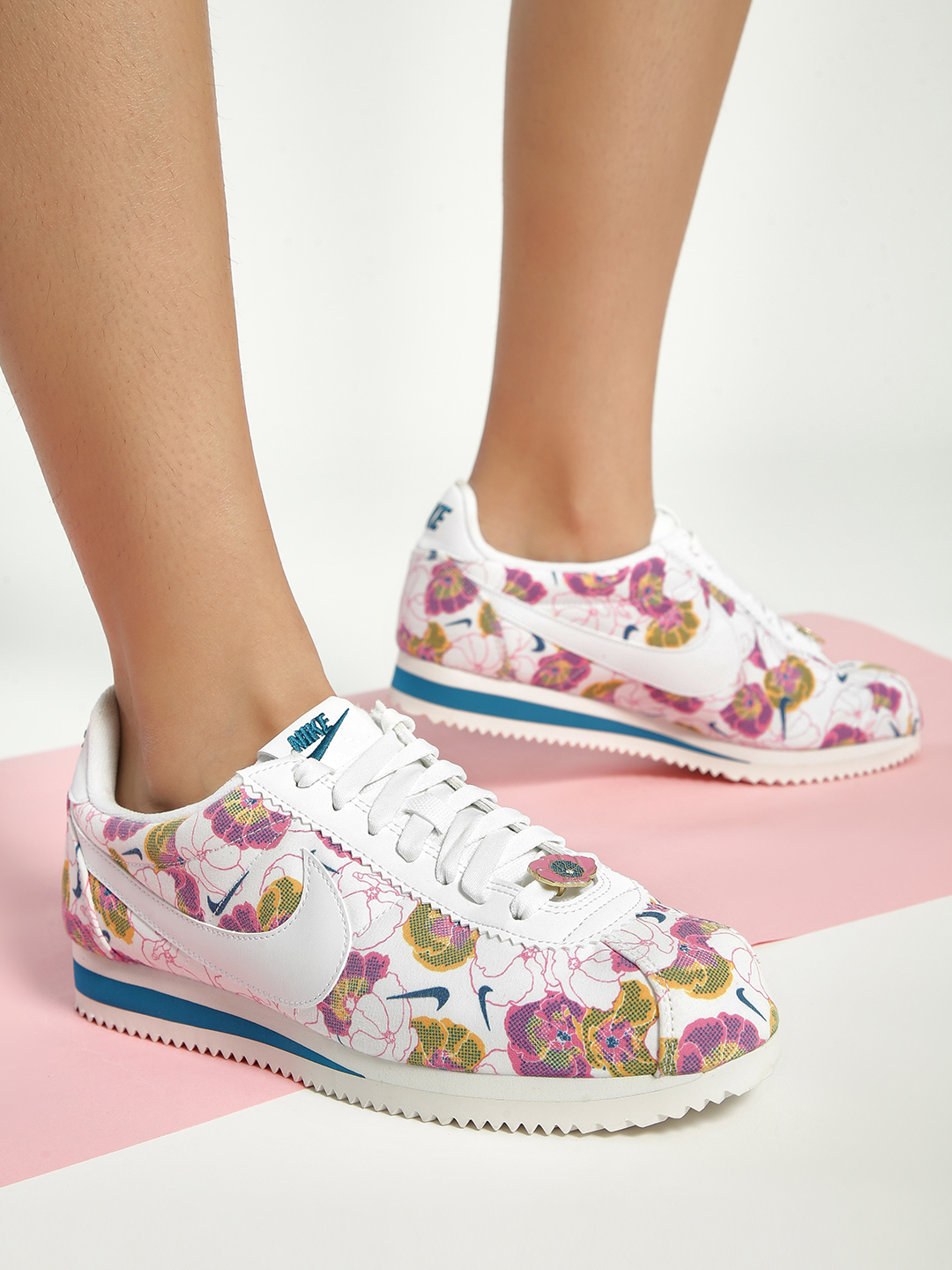 Nike Multi Classic Cortez LX Floral Sneakers 1